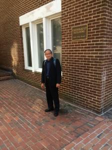 鍾敏強會長到美國華盛頓陳納德將軍府邸拜訪
