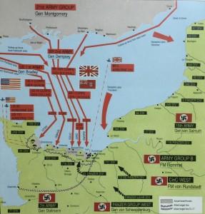 103 盟军诺曼弟作战计划