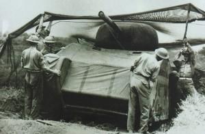 118 英军伪装M4战车欺瞒德军