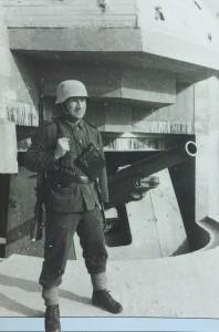 123 德军155MM炮台