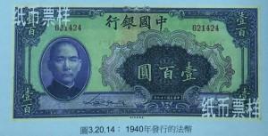1940年的法幣